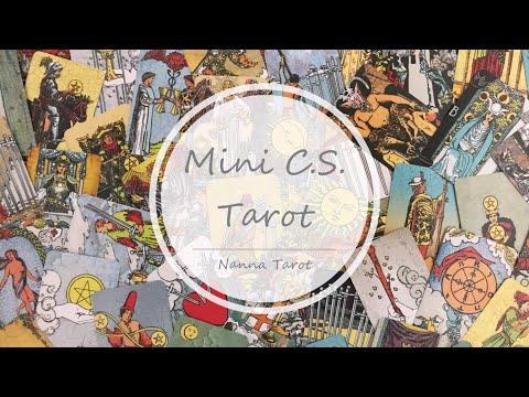 開箱  C.S.迷你偉特塔羅牌 • Mini C.S. Tarot  // Nanna Tarot