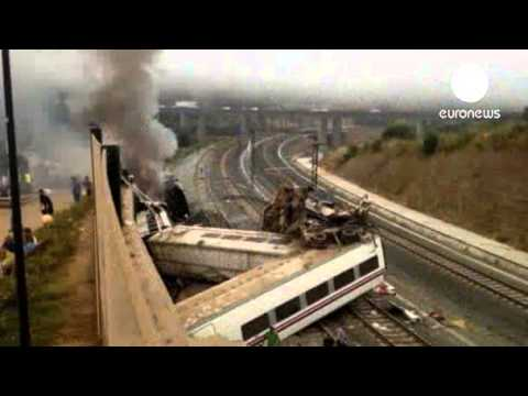 Train Crash In Spain: 'Up To 45 Killed'