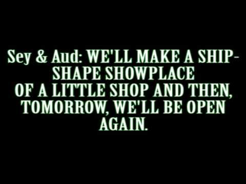 Closed For Renovation Lyrics | Little Shop of Horrors