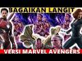 Mantap Jiwa Bagaikan Langit Versi Marvel Avengers