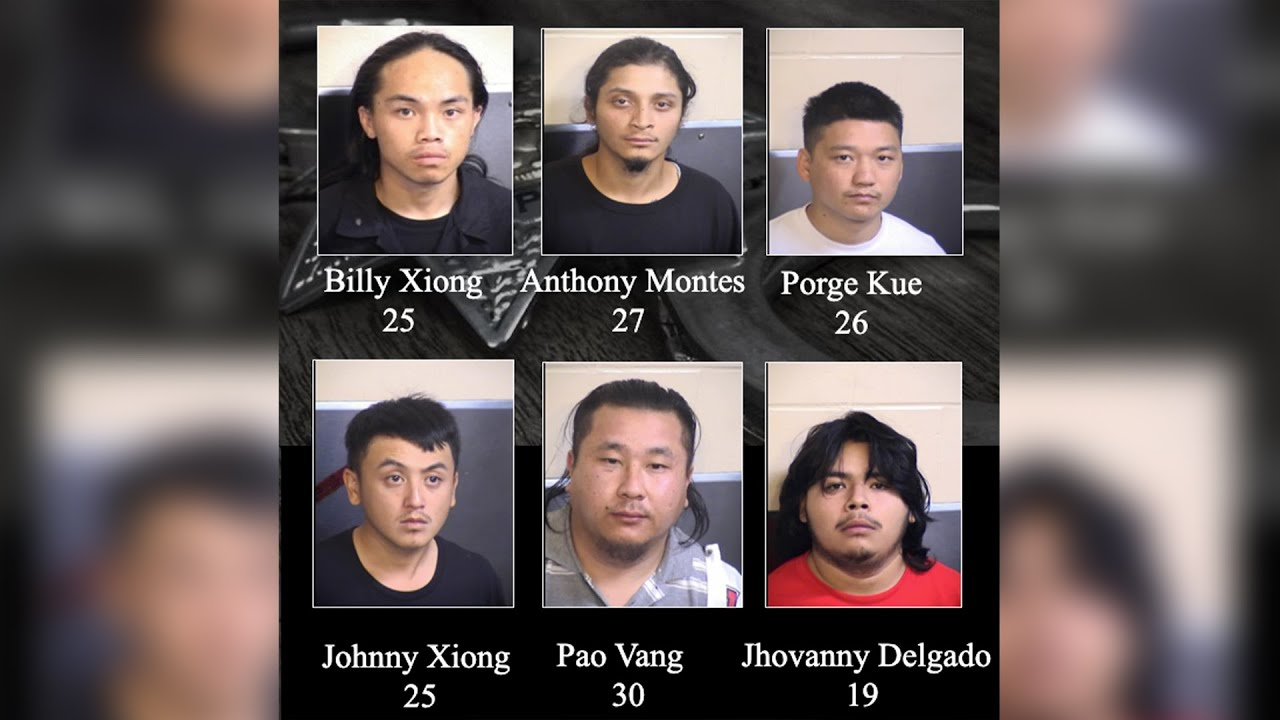 Six arrested in connection to mass shooting that killed four in Fresno