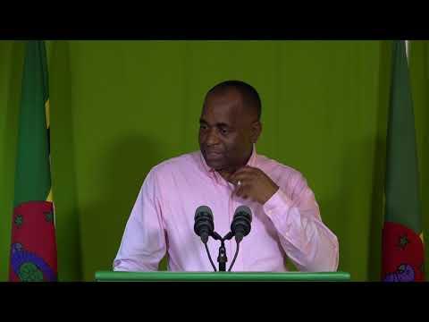 Oct. 12 - Press Briefing:Roosevelt Skerrit - Prime Minister of Dominica