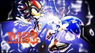 Rise Shadow And Sonic Shadria And SonAmy HAPPY BIRTHDAY SHADOWSGIRL1999