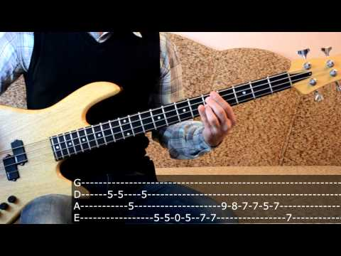 Offspring - Pretty Fly (bass cover) Часть 2