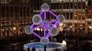 Chinese lantern show opens in Belgian capital
