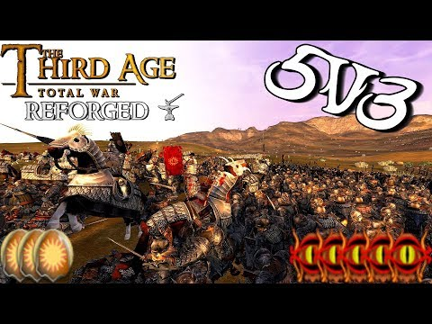--THE GAP OF KHAND-- Third Age: Reforged 5v3 Field Battle