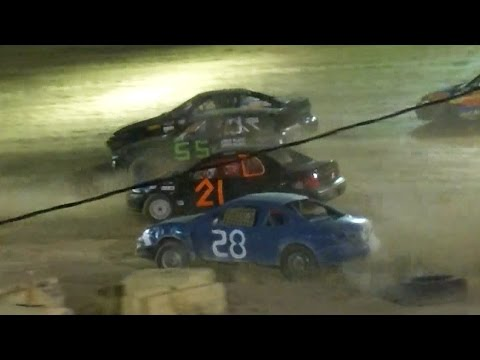 Mini Stock Feature | Old Bradford Speedway | 8-7-16