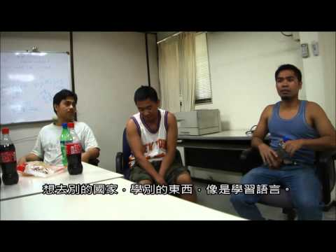 Interviewing the migrant worker in ASSAB Taiwan