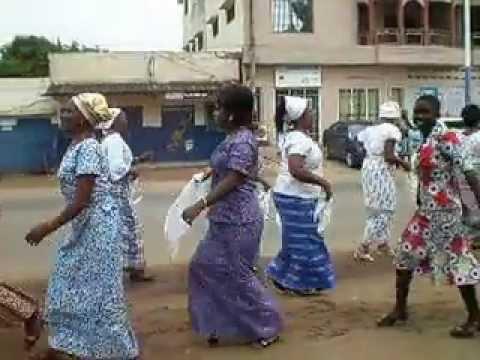 Praises at Nukafu,  Lome, Togo