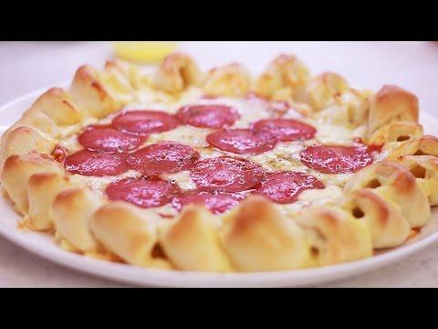 РЕЦЕПТ ░ Пицца с бомбическими бортиками