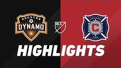 Houston Dynamo vs. Chicago Fire | HIGHLIGHTS - August 3, 2019