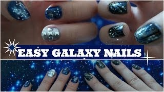 Two Easy Galaxy Nail Art Designs Thumbnail