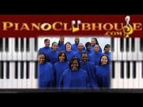 "♫ FULL TUTORIAL ""JESUS PROMISED"" (Chicago Mass Choir) - gospel piano tutorial"