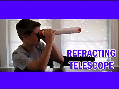 Making a Telescope EASY KIDS SCIENCE