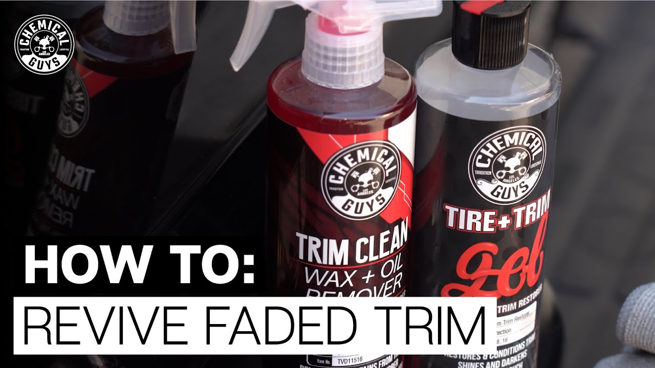 How To Restore and Protect Plastic Trim! - Chemical Guys