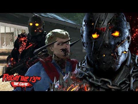 PLAYING AS TOM SAVINI JASON! || Friday The 13th The Game SAVINI JASON Multiplayer Gameplay streaming vf