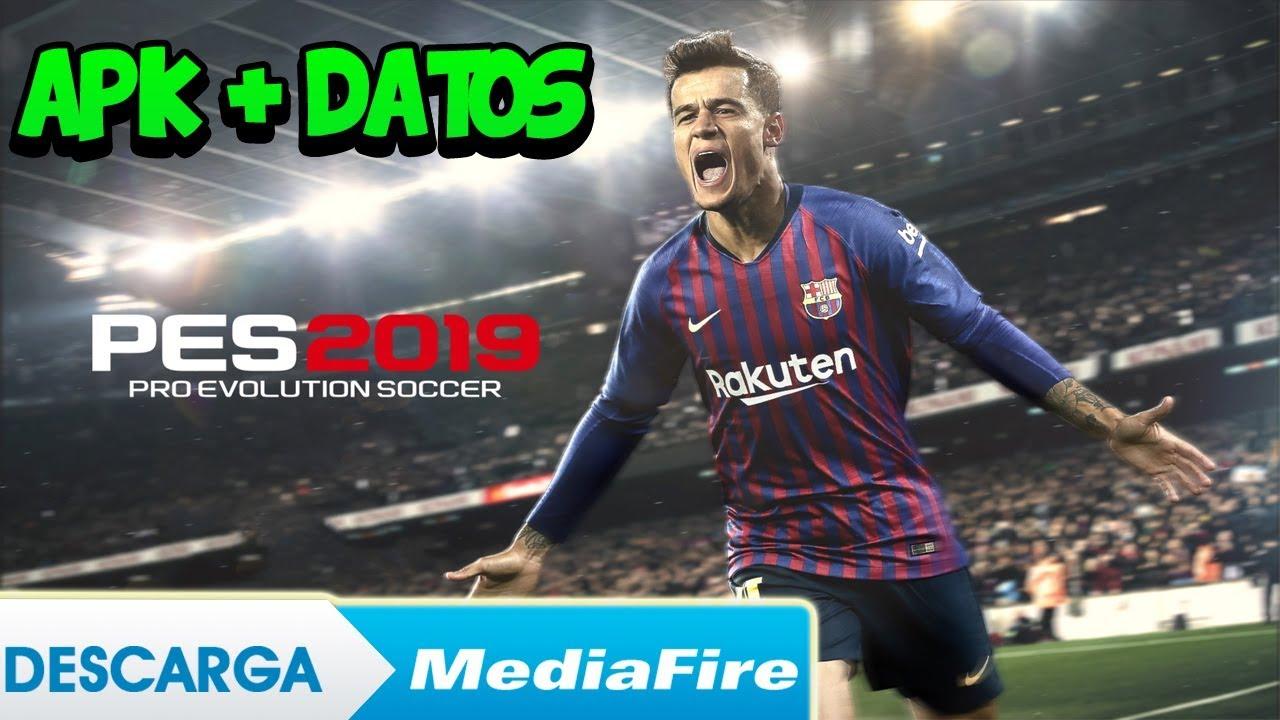 Descargar Pes 2019 Pro Evolution Soccer apk mas datos obb