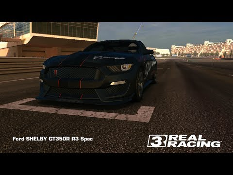 Real Racing 3 — Ford SHELBY GT350R R3 Spec / TopSpeed @ 306 Km/h