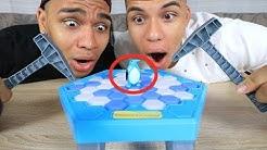 RETTE DEN PINGUIN CHALLENGE EXTREM !!! (BEI WEM ER FÄLLT DER VERLIERT) | Kelvin und Marvin