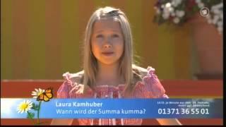 Laura Kamhuber - Immer wieder Sonntags - Wann wird der Summa kumma?