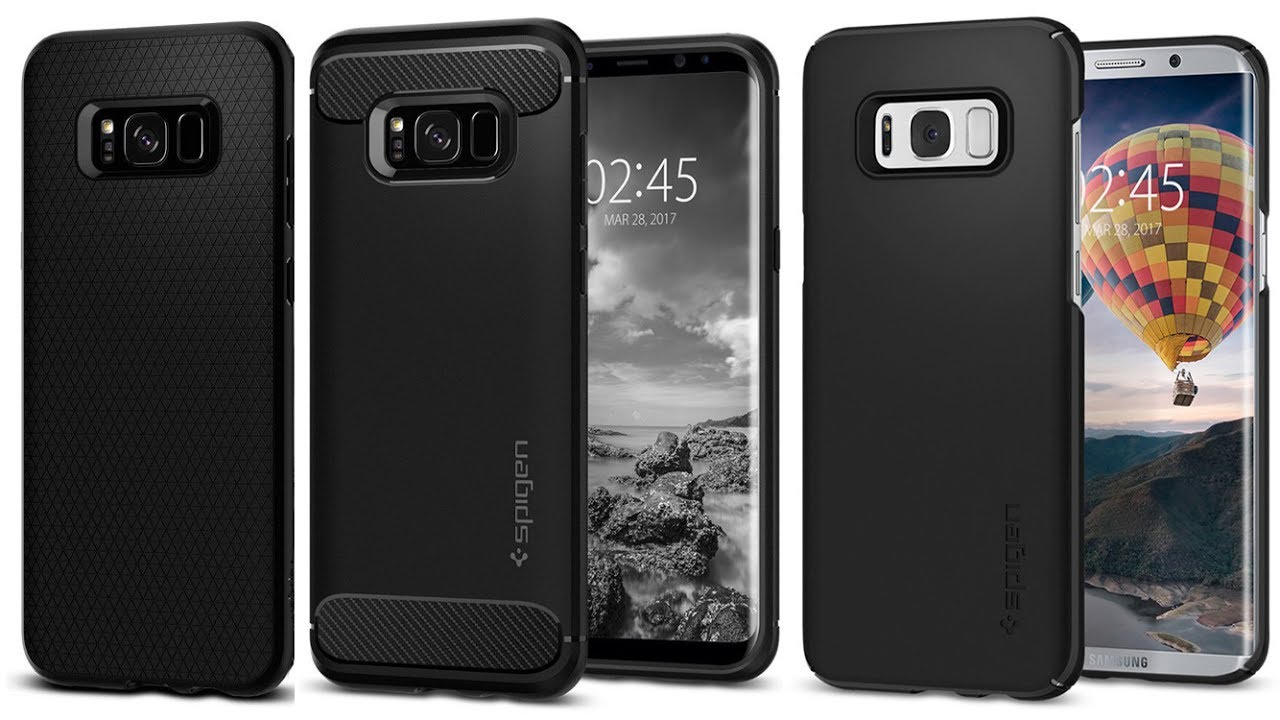 promo code 9c305 56b9a SPIGEN SGP Etui Rugged Armor, Thin Fit, Liquid Air Samsung Galaxy S8