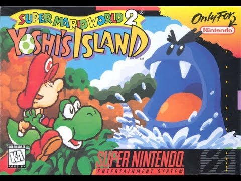 Super Mario World 2: Yoshi's Island Video Walkthrough 1/2