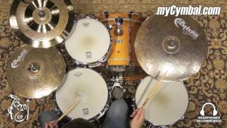 "Bosphorus 15"" Master Vintage Hi Hat Cymbals - 976/1195g (MV15H-1060716F)"