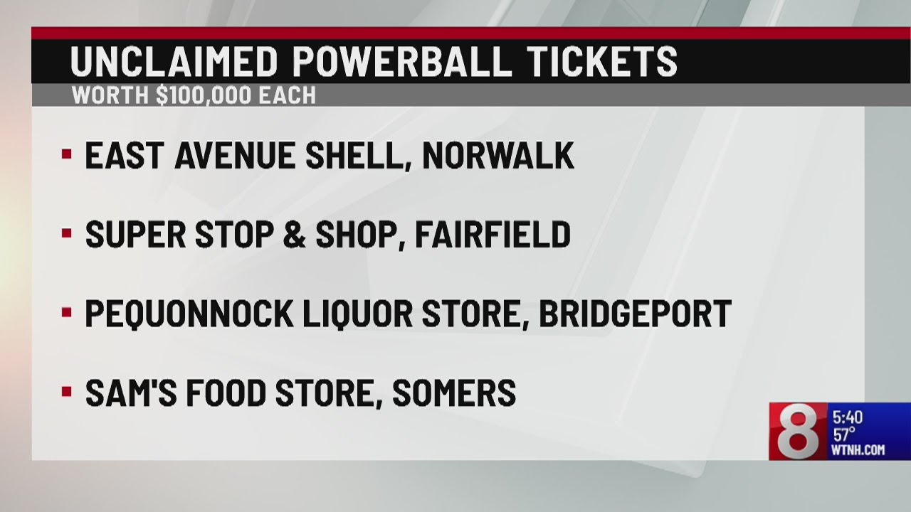 4 Powerball Tickets Worth 100 000 Each Remain Unclaimed In