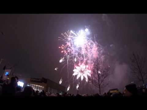 Bratislava New Year 2015 Fireworks GoPro
