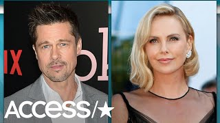 Rumors began swirling this weekend that Brad Pitt and Charlize Ther...