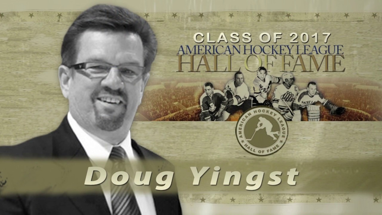 Ahl Hall Of Fame Doug Yingst 2017 Youtube