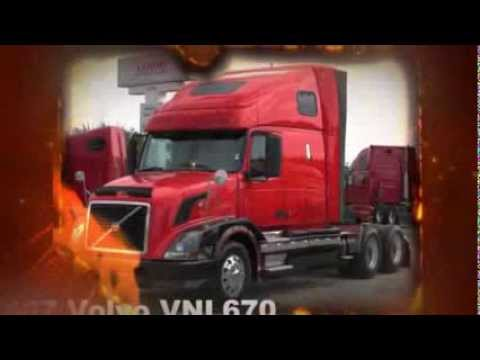 18 Wheeler Volvo VNL670 Semi Truck for sale - YouTube