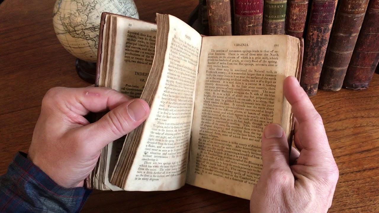 Jedidiah morse geography book w 2 folding maps 1818 world north jedidiah morse geography book w 2 folding maps 1818 world north america gumiabroncs Image collections