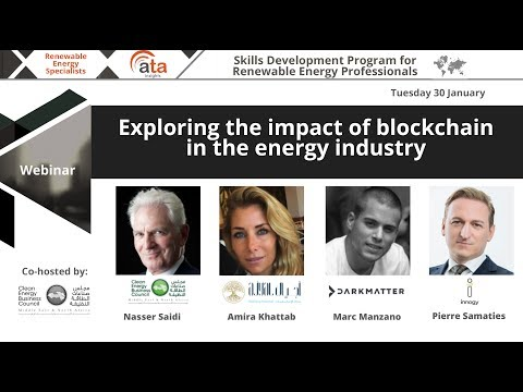 Webinar: Exploring the impact of blockchain in the energy industry