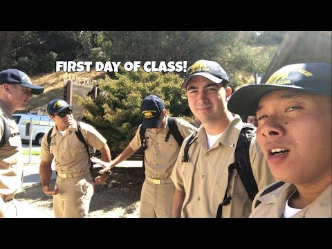 Cal Maritime Vlogs | First Day of School