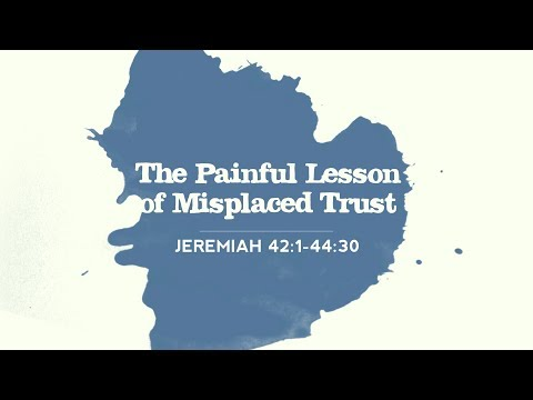 Pt. 13 The Painful Lesson of Misplaced Trust