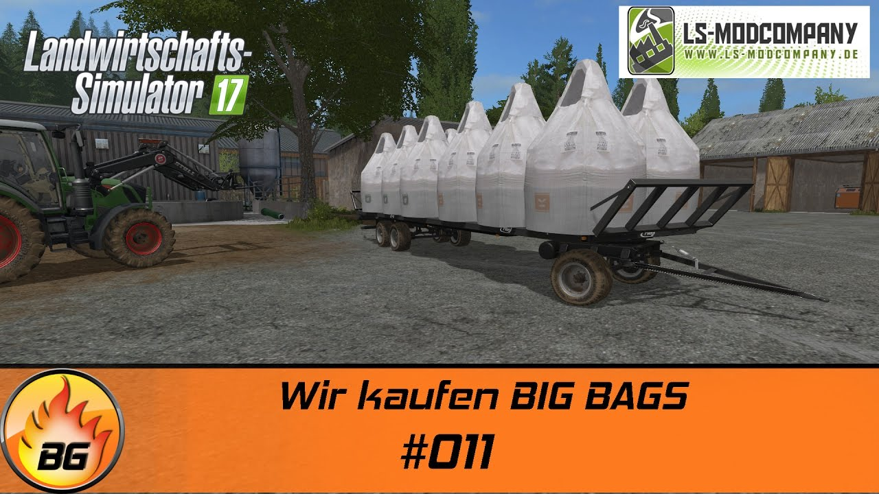 ls17 hof bergmann 011 wir kaufen big bags let 39 s play hd youtube. Black Bedroom Furniture Sets. Home Design Ideas