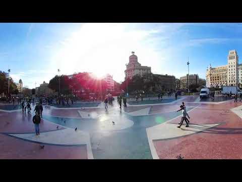 360 VR Tour | Barcelona | Catalonia Square | Plaça de Catalunya | VR Walk | No comments tour