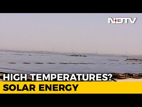 Country's Biggest Solar Park In Rajasthan, India's Clean Energy Push