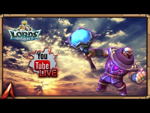 War Of Wonders! Playing The Reset Game... Lords Mobile