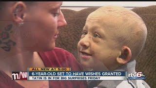 6-year-old set to have wishes granted