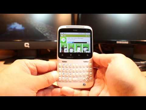 Line messenger install to HTC ChaCha