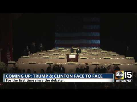 FULL: Alfred Smith Charity Dinner - Trump & Clinton's first face to face post debate