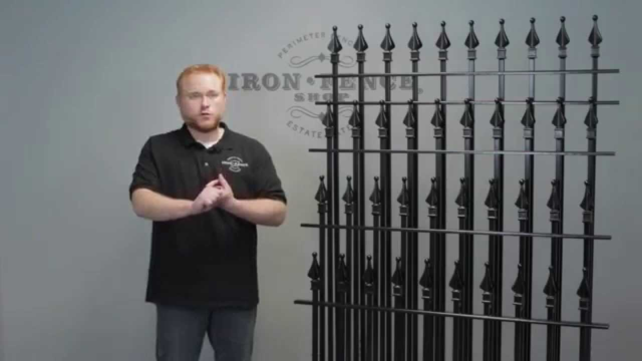Which Iron Fence Or Aluminum Fence Height Is Best For My