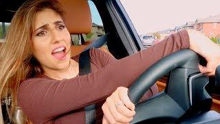 ساقت السيارة لاول مرة .. (جابت العيد😅)