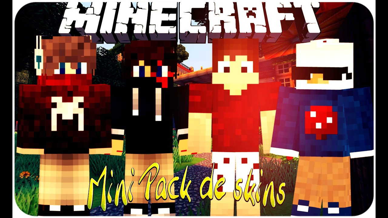 Mini Pack De Skins Minecraft Download YouTube - Skins minecraft baixar gratis