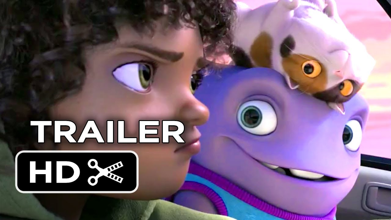 Home Official Trailer 1 2015 Jim Parsons Rihanna Animated