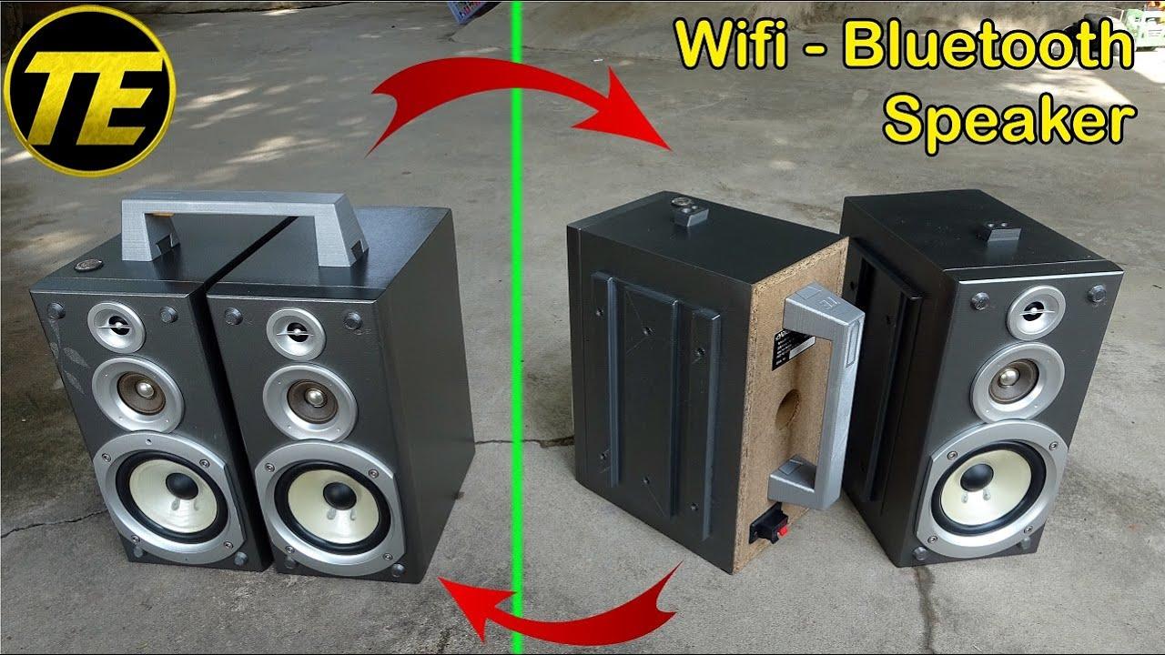 Building Wifi - Bluetooth Speaker from Victor Speakers