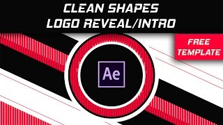 Free Clean Shapes Logo Reveal/Intro Template For After Effects by Dope Motions™