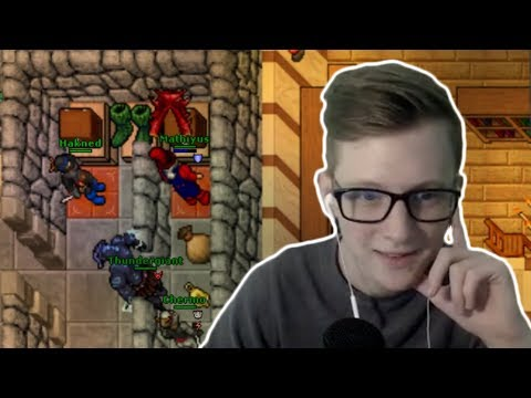 VANGORO RECEIVES FREE ITEMS - BEST OF TIBIA, PART 6 - TWITCH   TIBIA